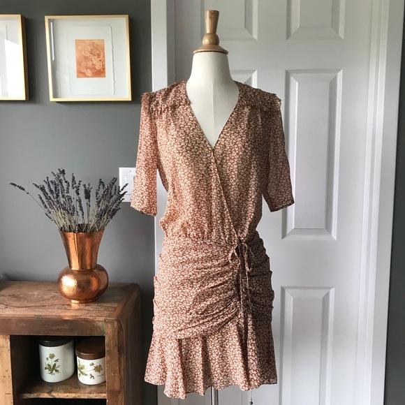 3f0b3fdf236 New with tags Veronica Beard Dakota flounce dress